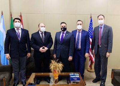 Analizan agilización del comercio seguro entre Paraguay y EEUU