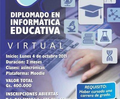 Diplomado en Informática Educativa iniciará el 04 de octubre mediante convenio entre UPE y Fundación Santo Domingo