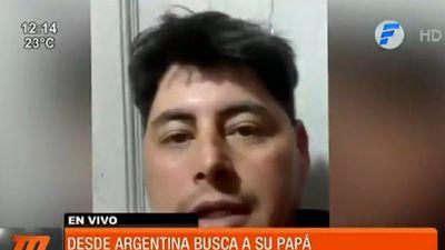 Un joven busca a su padre, a quien no ve hace 37 años