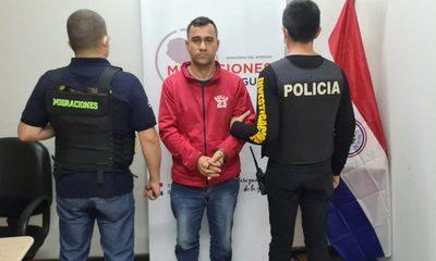 Expulsan a brasileño requerido en su país por tráfico de drogas