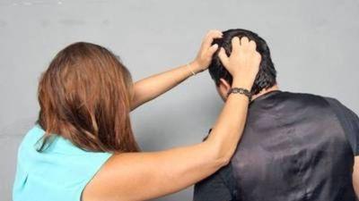 """Doña agredió a pedradas a su esposo por """"nervios"""""""