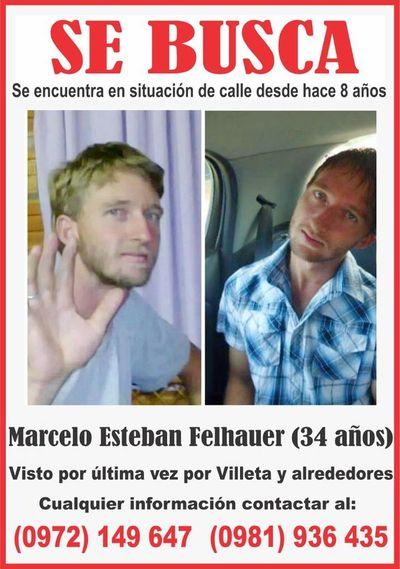 Madre busca a su hijo desaparecido desde el 2013 y cree que está en Asunción