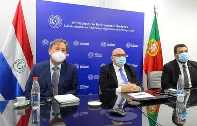 Paraguay fortalece relación comercial con Portugal