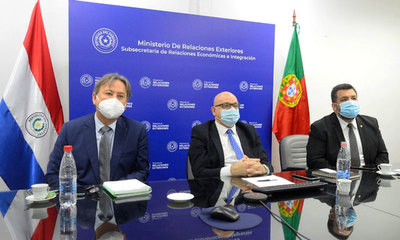 Paraguay y Portugal refuerzan relaciones comerciales