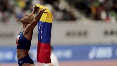 Yulimar Rojas, reina del salto triple, piensa en París-2024
