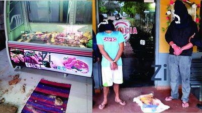 Sucesivos robos y posterior detención de personas en San Juan Bautista