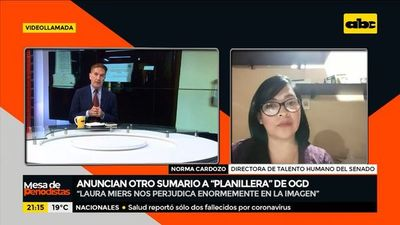 """Anuncian sumario a """"planillera"""" de OGD"""