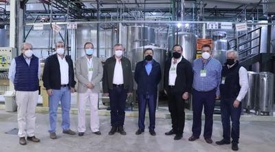 CONACYT participó de presentación de planta de biotecnología para producción agropecuaria
