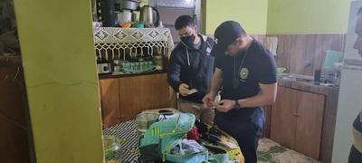 Desarticulan esquema de narcotráfico en 6 allanamientos en simultáneo en Concepción y Amambay