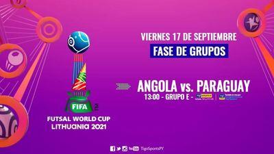 Paraguay busca su primer festejo en el Mundial de futsal FIFA