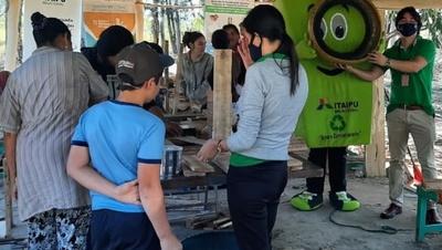 Artículos utilitarios para diversos fines aprendieron a elaborar pobladores de Coronel Oviedo