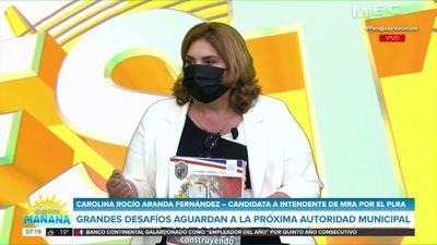 """""""Me sentí con las alas cortadas"""", dice la candidata a intendenta de MRA que va por el rekutú"""