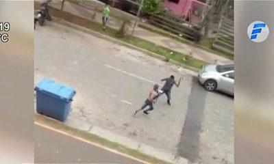 Detienen a sujetos que se enfrentaron a machetazos en barrio San Francisco