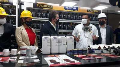 Autoridades del MIC visitan industrias de Alto Paraná