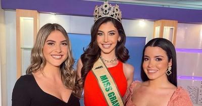 La Nación / Jimena Sosa, la miss Grand Paraguay, deslumbra en la TV ecuatoriana