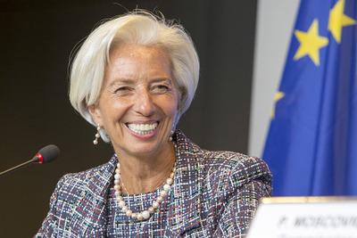 Christine Lagarde: «La economía se está recuperando claramente en la zona del euro»