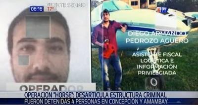 Detienen a asistente fiscal en operativo contra el narcotráfico
