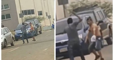 """La Nación / Detienen a involucrados en viral pelea """"samurái"""" en barrio San Francisco"""