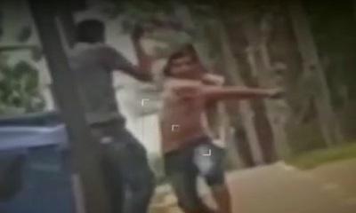 Zeballos Cué: A machetazos en la vía pública