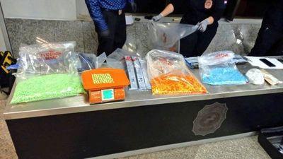 Paraguay también importa drogas: cae cargamento de éxtasis en el Pettirossi