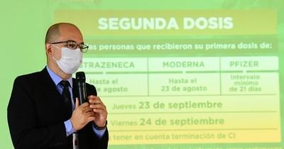 La Nación / Vacunarán a jóvenes con 18 años cumplidos desde el lunes