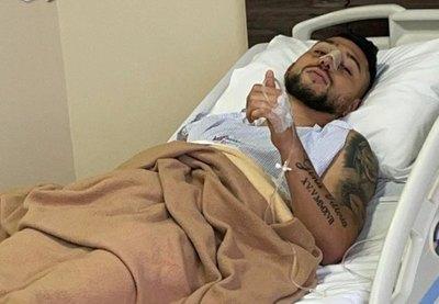Víctor 'Tucu' Salazar fue intervenido nuevamente y dejó un mensaje