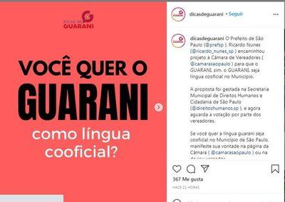 Brasil: Proponen que el guaraní sea el segundo idioma oficial de São Paulo