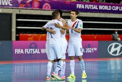 Paraguay se recupera ante Angola en el Mundial de futsal FIFA