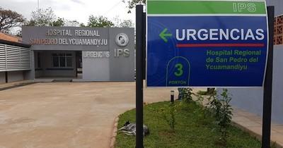 La Nación / IPS de San Pedro, de estar lleno de pacientes COVID-19 a totalmente vacío