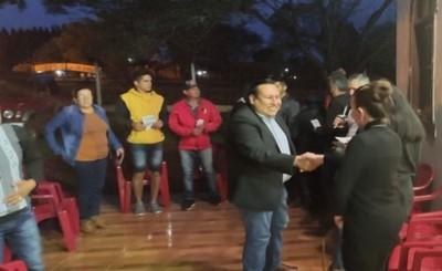 Rolando Segovia recorre el Km 12 Acaray