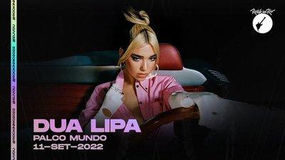 Dua Lipa estará en Rock in Rio 2022
