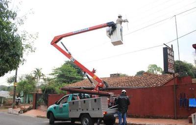 En busca de mejorar el servicio, Ande arrancó operativos en Ñemby y San Antonio