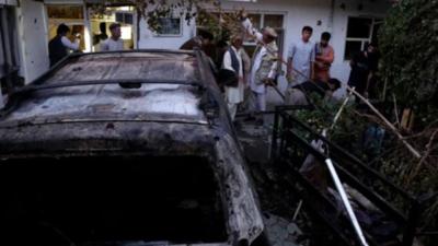 """EEUU admite que mató por """"error"""" a 10 civiles en ataque con drones"""
