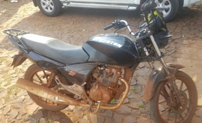 Recuperan motocicleta mediante rastreo satelital en Remansito