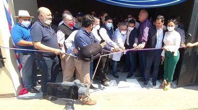 Inauguran primer parque sanitario y oficina del Senepa