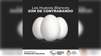 Impulsan campaña para combatir contrabando de huevos blancos