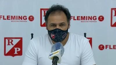 Chito Ayala dice que River Plate fue mejor que Libertad