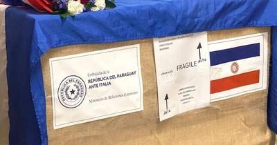 La Nación / Reliquias de la beata Chiquitunga ya están rumbo a Paraguay