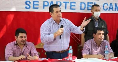 """La Nación / Cartes pide """"a los jugadores"""" salir a ganar en elecciones municipales"""