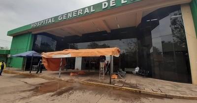 La Nación / Retiraron la carpa de contingencia del hospital de Luque