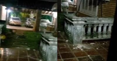 La Nación / Médico en Luque denunció a su vecino por polución sonora y terminó con la casa apedreada