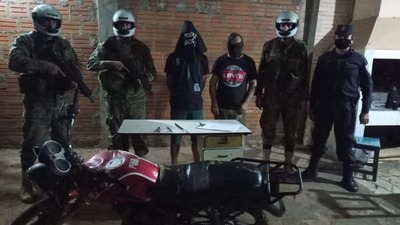 Detienen a dos supuestos motochorros en Concepción