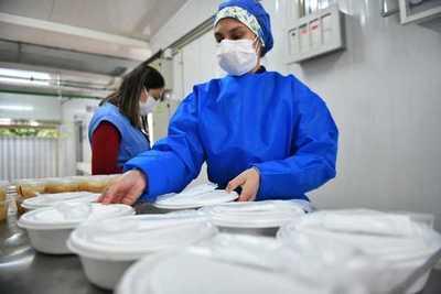 Covid: Itaipu entregó más de 53.000 servicios de alimentos en Alto Paraná