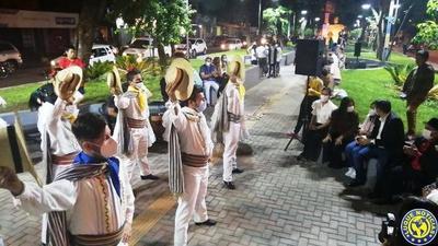 Con danza y fuegos pirotécnicos habilitaron el Paseo Humaitá •