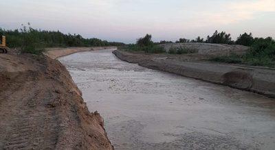 Río Pilcomayo: exitoso inicio de obras en el Lote 2