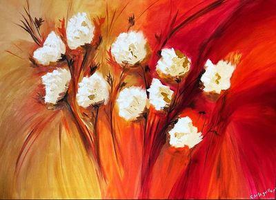 Flores, colores y arte en el Shopping Mariscal