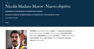 EE.UU reitera recompensa de $15 millones por captura de Maduro a propósito de su viaje a México