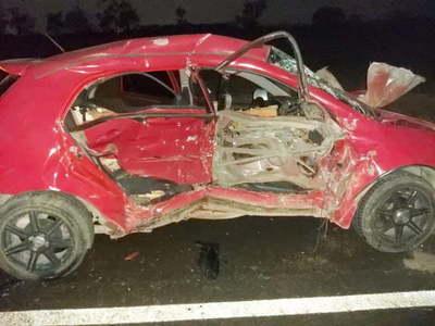 Joven muere en accidente de tránsito y su novia está grave