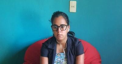 La Nación / Embarazada y con discapacidad visual, ganó una beca y sueña con estudiar comunicación en la UNA