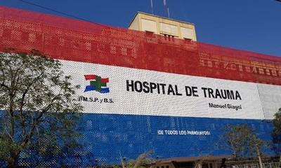 Hospital de Trauma se encuentra con camas de Terapia al tope por accidentados